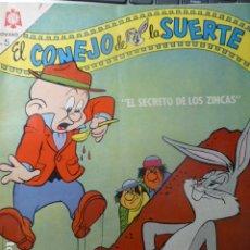 Tebeos: COMIC EL CONEJO DE LA SUERTE Nº 225 1965 DE NOVARO. Lote 263649510