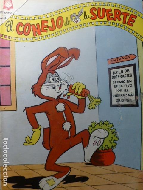 COMIC EL CONEJO DE LA SUERTE Nº 218 1965 DE NOVARO (Tebeos y Comics - Novaro - El Conejo de la Suerte)