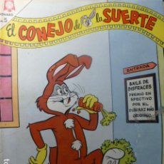 Tebeos: COMIC EL CONEJO DE LA SUERTE Nº 218 1965 DE NOVARO. Lote 263650485