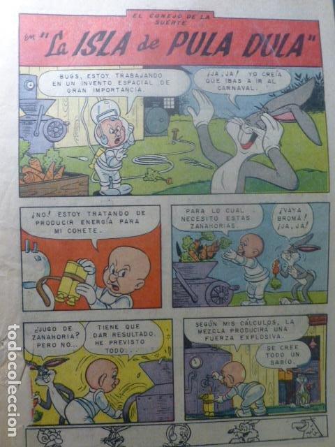 COMIC EL CONEJO DE LA SUERTE SIN TAPAS DE NOVARO (Tebeos y Comics - Novaro - El Conejo de la Suerte)