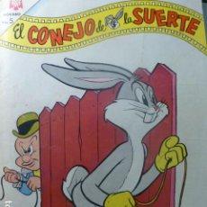 Tebeos: COMIC EL CONEJO DE LA SUERTE Nº 198 1964 DE NOVARO. Lote 263651300