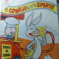 Tebeos: COMIC EL CONEJO DE LA SUERTE Nº 196 1964 DE NOVARO. Lote 263651325
