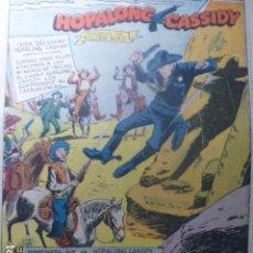 Tebeos: COMIC HOPALONG CASSIDY SIN PORTADAS DE NOVARO. Lote 263657100