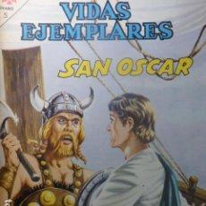 Tebeos: COMIC VIDAS EJEMPLARES SAN OSCAR Nº 208 1965 DE NOVARO. Lote 263663355