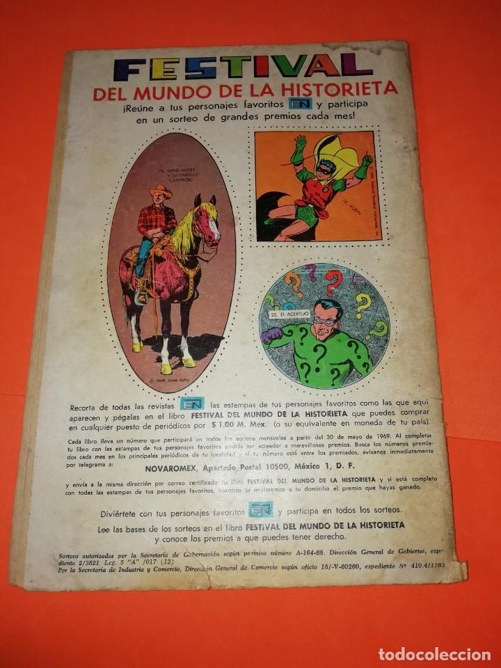 Tebeos: GENE AUTRY. NOVARO . Nº 185. 1969. DESGASTE DEL PASO DEL TIEMPO - Foto 3 - 264307624