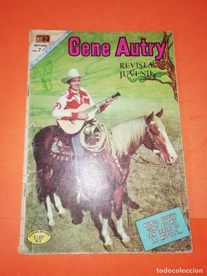 GENE AUTRY. NOVARO . Nº 185. 1969. DESGASTE DEL PASO DEL TIEMPO (Tebeos y Comics - Novaro - Otros)