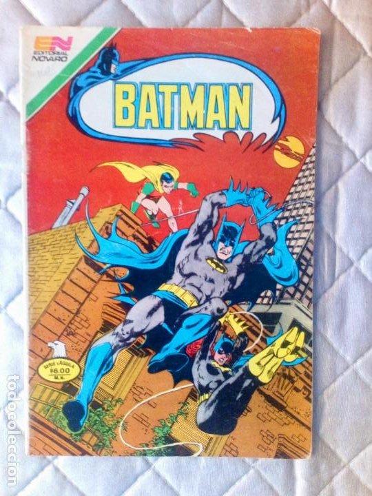 BATMAN Nº 1085 SERIE ÁGUILA NOVARO MUY DIFÍCIL (Tebeos y Comics - Novaro - Batman)