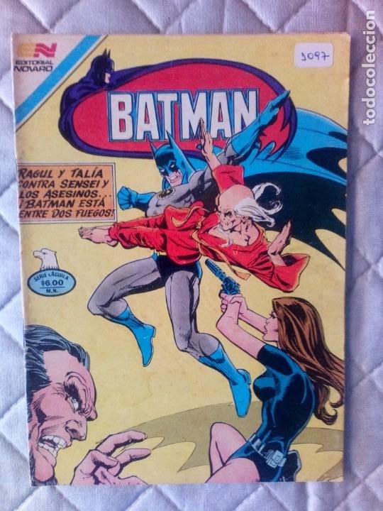 BATMAN Nº 1097 SERIE ÁGUILA NOVARO MUY DIFÍCIL (Tebeos y Comics - Novaro - Batman)