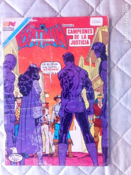 BATMAN Nº 1210 SERIE ÁGUILA NOVARO MUY DIFÍCIL (Tebeos y Comics - Novaro - Batman)