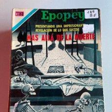Livros de Banda Desenhada: NOVARO EPOPEYA NUMERO 189 BUEN ESTADO. Lote 265320854