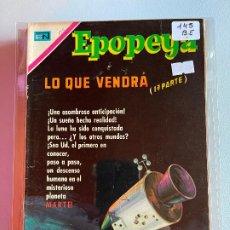 Tebeos: NOVARO EPOPEYA NUMERO 145 BUEN ESTADO. Lote 265322164