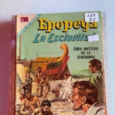 Tebeos: NOVARO EPOPEYA NUMERO 123 BUEN ESTADO. Lote 265322304