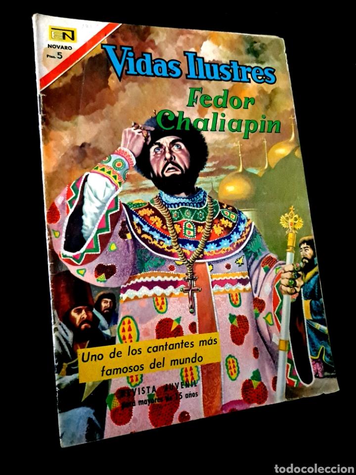 MUY BUEN ESTADO VIDAS ILUSTRES 171 NOVARO TEBEO (Tebeos y Comics - Novaro - Vidas ilustres)