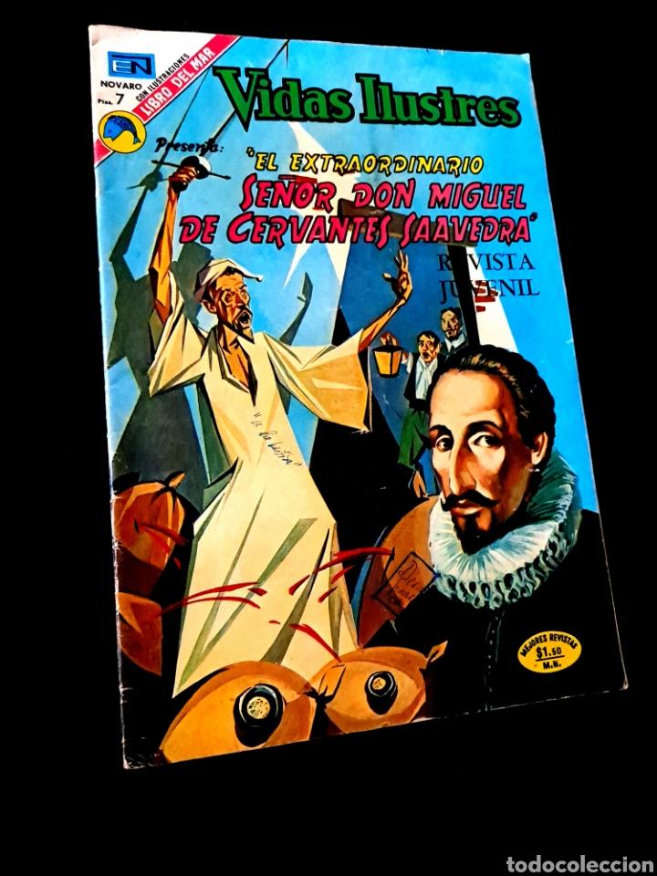 MUY BUEN ESTADO VIDAS ILUSTRES 307 NOVARO TEBEO (Tebeos y Comics - Novaro - Vidas ilustres)