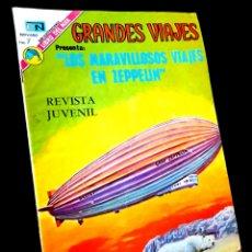 Tebeos: MUY BUEN ESTADO GRANDES VIAJES 131 NOVARO TEBEO. Lote 265441624
