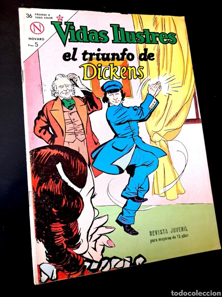 EXCELENTE ESTADO VIDAS ILUSTRES 97 NOVARO TEBEO (Tebeos y Comics - Novaro - Vidas ilustres)