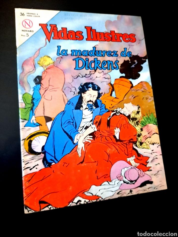 EXCELENTE ESTADO VIDAS ILUSTRES 98 NOVARO TEBEO (Tebeos y Comics - Novaro - Vidas ilustres)