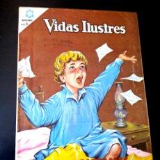 Tebeos: EXCELENTE ESTADO VIDAS ILUSTRES 115 NOVARO TEBEO. Lote 265902388