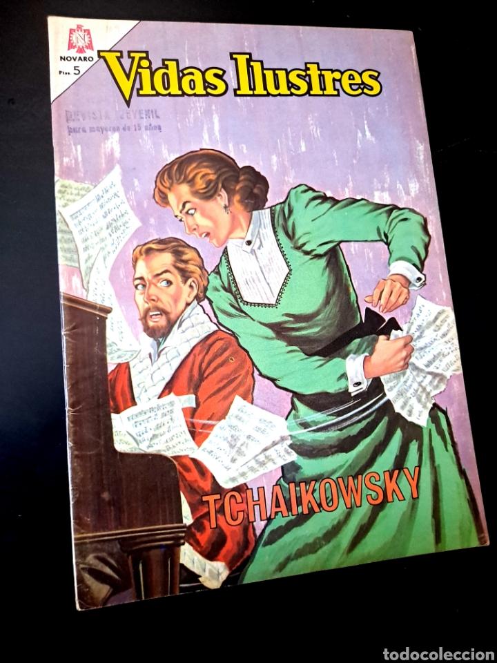 EXCELENTE ESTADO VIDAS ILUSTRES 109 NOVARO TEBEO (Tebeos y Comics - Novaro - Vidas ilustres)