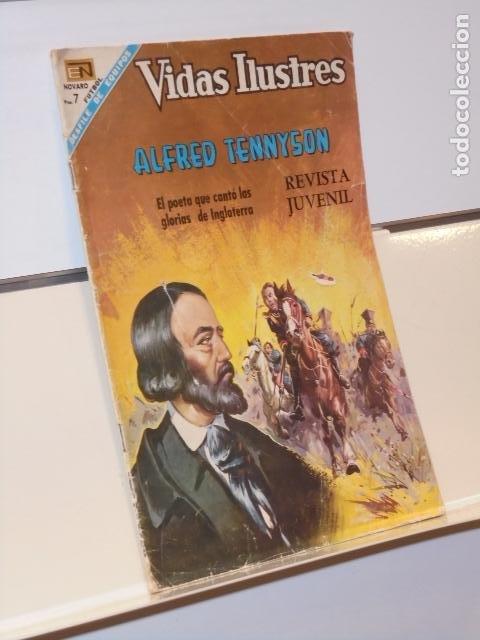 VIDAS ILUSTRES Nº 180 ALFRED TENNYSON - NOVARO (Tebeos y Comics - Novaro - Vidas ilustres)