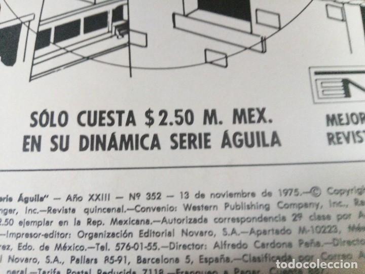Tebeos: TEBEO EDITORIAL NOVARO . SERIE AGUILA .AÑOS 70. - Foto 2 - 266156193