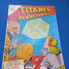 Tebeos: TITANES PLANETARIOS NÚMERO 24. NOVARO. MUY DIFÍCIL.. Lote 266473073