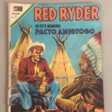 Tebeos: RED RYDER EN PACTO AMISTOSO, NOVARO. Lote 266536523