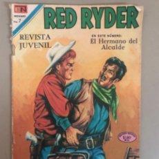 Tebeos: RED RYDER EN EL HERMANO DEL ALCALDE, NOVARO. Lote 266536738