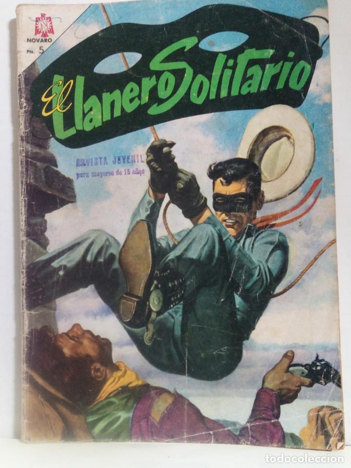 TEBEO EDITORIAL NOVARO . AÑO : 1965 (Tebeos y Comics - Novaro - El Llanero Solitario)