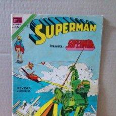 Tebeos: TEBEO EDITORIAL NOVARO .LOTE DE 2 TEBEOS DE SUPERMAN. Lote 266588108
