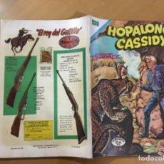 Tebeos: HOPALONG CASSIDY. Nº 206. NOVARO, 1972.. Lote 266609238