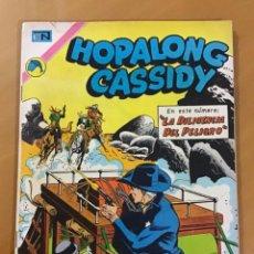 Tebeos: HOPALONG CASSIDY. Nº 218. NOVARO, 1973.. Lote 266609293
