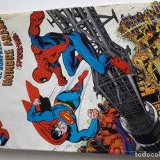 Tebeos: SUPERMAN VS. EL SORPRENDENTE HOMBRE ARAÑA AÑO 1979 NOVARO TOMO GRANDE. Lote 266707463