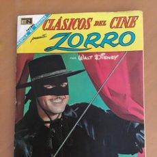 Tebeos: CLASICOS DEL CINE, Nº 173. ZORRO. NOVARO - 1968. WALT DISNEY. Lote 266814574