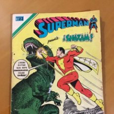 Tebeos: SUPERMAN - Nº 2 - 1131. NOVARO - SERIE AGUILA, 1977. Lote 266816579