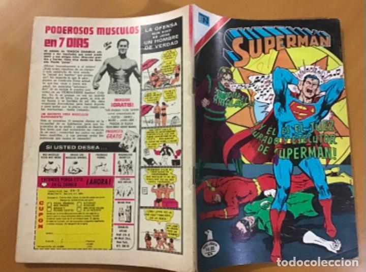 Tebeos: SUPERMAN - nº 2 - 1186. NOVARO - SERIE AGUILA, 1978 - Foto 2 - 266816599