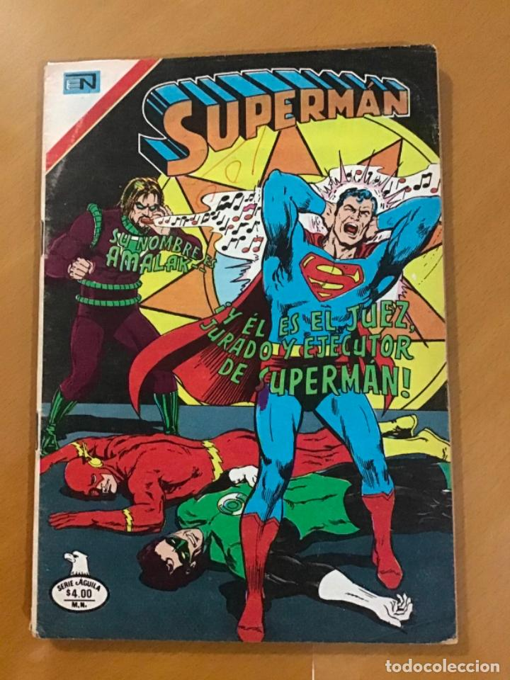 SUPERMAN - Nº 2 - 1186. NOVARO - SERIE AGUILA, 1978 (Tebeos y Comics - Novaro - Superman)