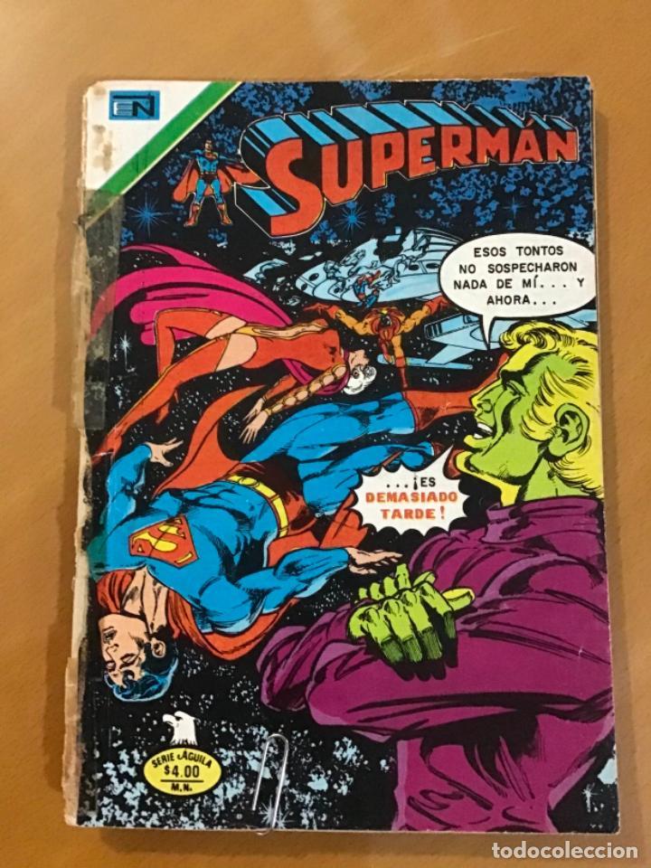 SUPERMAN - Nº 2 - 1183. NOVARO - SERIE AGUILA, 1978 (Tebeos y Comics - Novaro - Superman)