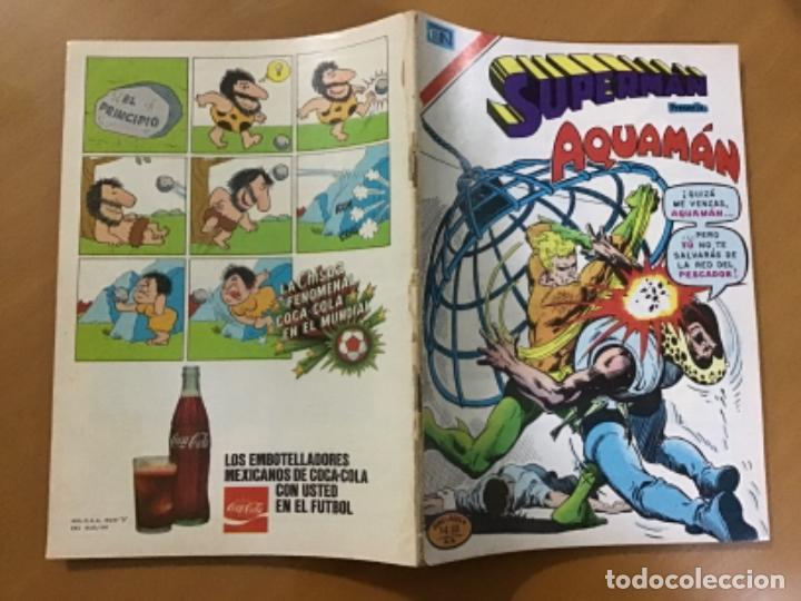 Tebeos: SUPERMAN - nº 2 - 1189. NOVARO - SERIE AGUILA, 1978 - Foto 2 - 266816649