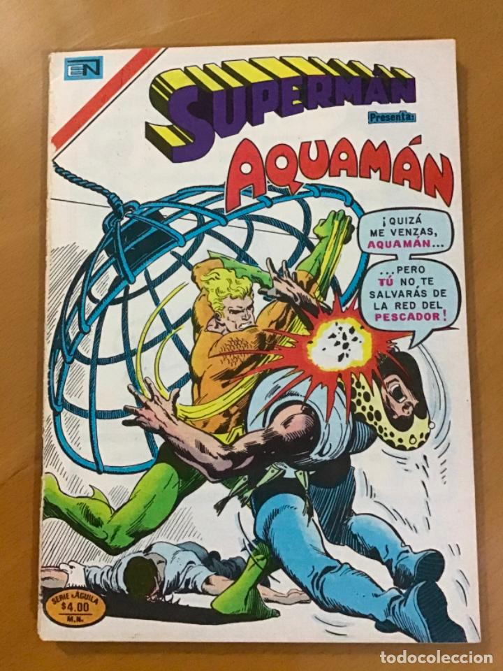 SUPERMAN - Nº 2 - 1189. NOVARO - SERIE AGUILA, 1978 (Tebeos y Comics - Novaro - Superman)