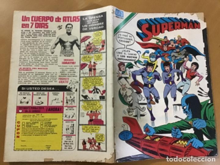 Tebeos: SUPERMAN - nº 2 - 1209. NOVARO - SERIE AGUILA, 1979 - Foto 2 - 266816654