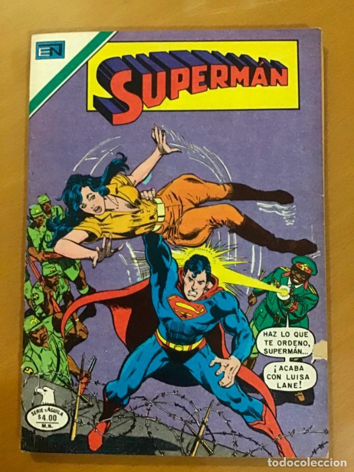 SUPERMAN - Nº 2 - 1232. NOVARO - SERIE AGUILA, 1979 (Tebeos y Comics - Novaro - Superman)