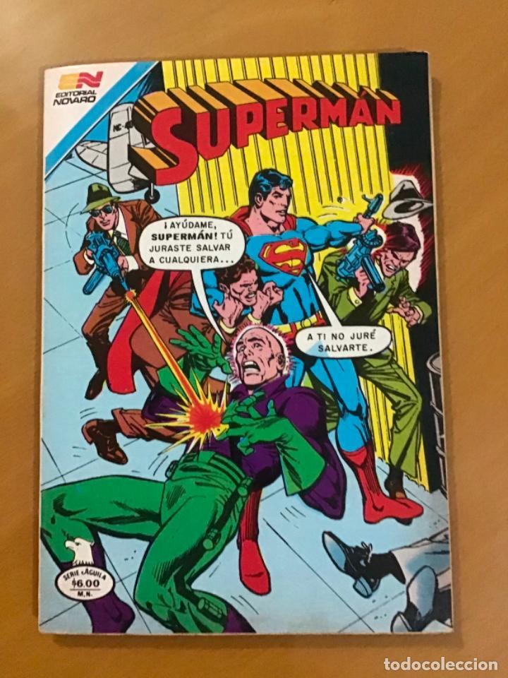 SUPERMAN - Nº 2 - 1328. NOVARO - SERIE AGUILA, 1981 (Tebeos y Comics - Novaro - Superman)