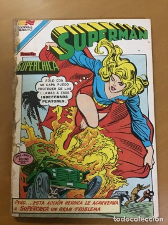 SUPERMAN - Nº 2 - 1325. NOVARO - SERIE AGUILA, 1981 (Tebeos y Comics - Novaro - Superman)