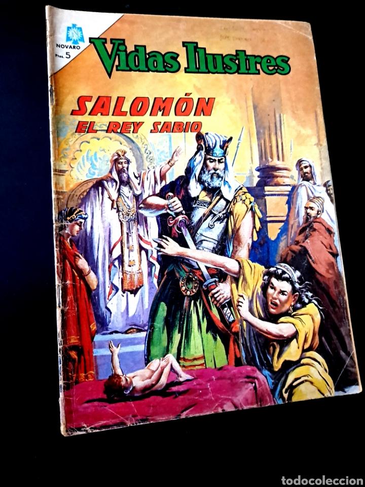 VIDAS ILUSTRES 127 NORMAL ESTADO NOVARO (Tebeos y Comics - Novaro - Vidas ilustres)