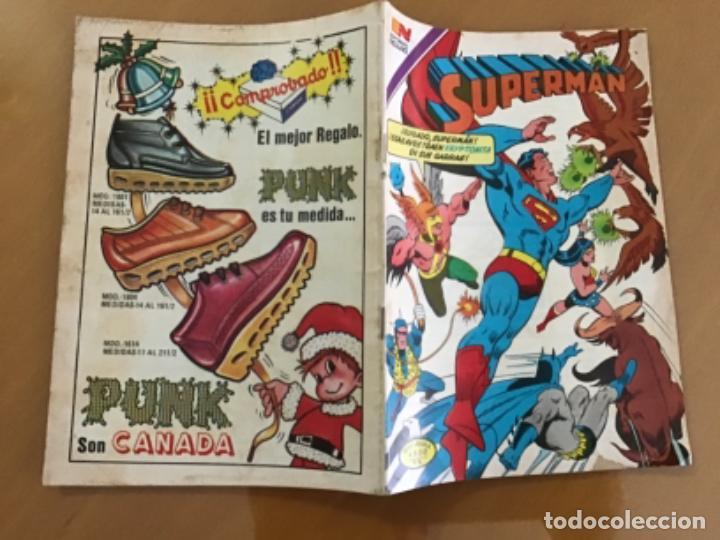 Tebeos: SUPERMAN - nº 2 - 1371. NOVARO - SERIE AGUILA, 1982 - Foto 2 - 266973974