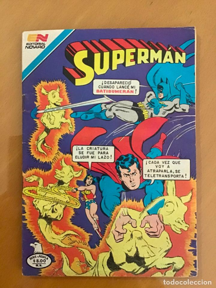 SUPERMAN - Nº 2 - 1377. NOVARO - SERIE AGUILA, 1982 (Tebeos y Comics - Novaro - Superman)