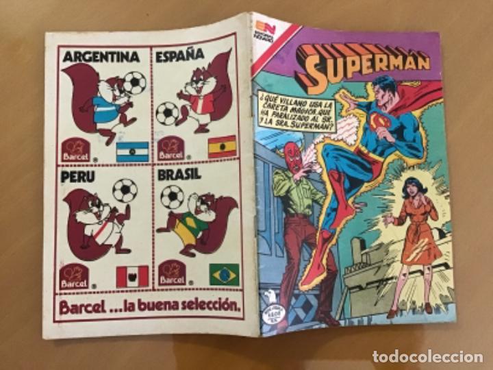 Tebeos: SUPERMAN - nº 2 - 1385. NOVARO - SERIE AGUILA, 1982 - Foto 2 - 266974869
