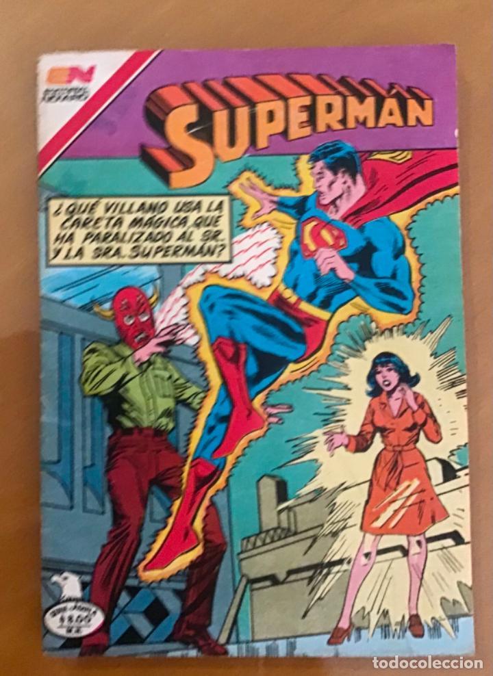 SUPERMAN - Nº 2 - 1385. NOVARO - SERIE AGUILA, 1982 (Tebeos y Comics - Novaro - Superman)