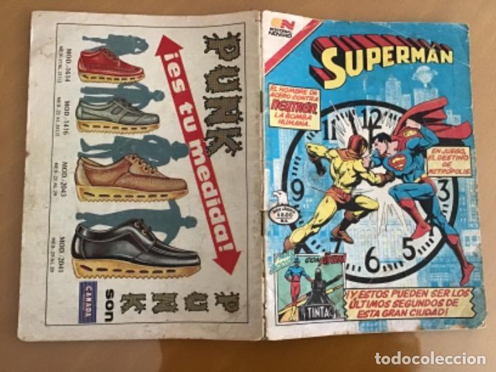 Tebeos: SUPERMAN - nº 2 - 1388. NOVARO - SERIE AGUILA, 1982 - Foto 2 - 267053974